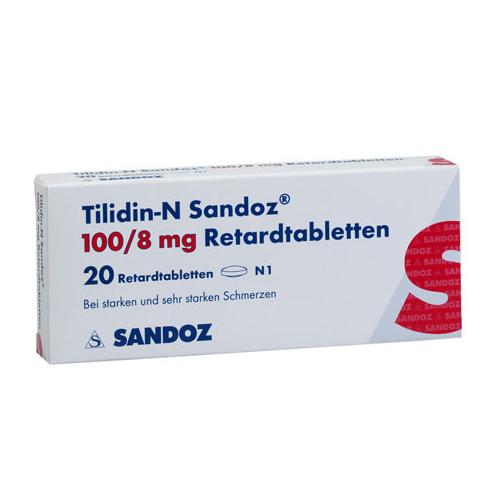 Tilidin-N 100/8 mg Sandoz 80 Tabletten - Rezeptfrei 24
