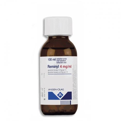 Reminyl Solution 100 ml, 4 mg/ml - Rezeptfrei 24